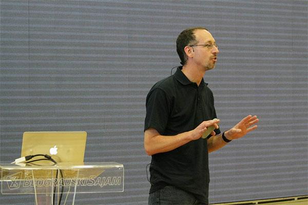 Rob Allen opravdao je reputaciju vrhunskog predavača (Foro: PHP Srbija)