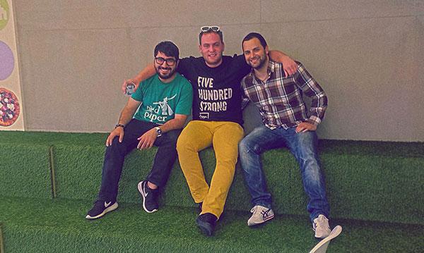 Novica i predstavnici akceleratora 500 Startups na nedavnom okupljanju u ICT Hub-u (Foto: privatna arhiva)