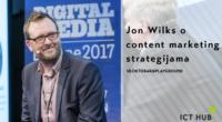 Šta podrazumeva uspešna strategija za sadržajno oglašavanje? Džon Vilks otkriva 18. oktobra u ICT Hub-u