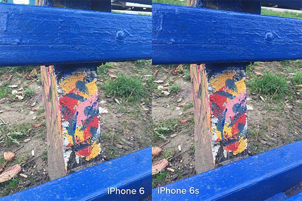 Pored fotografije u većoj rezoluciji, iPhone 6S je zabeležio nešto čistiju fotografiju, iako je razlika u dnevnim uslovima gotovo neprimetna.