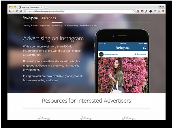 Kako vreme bude prolazilo, tako možemo očekivati i sve veći broj 'domaćih' Instagram oglasa.