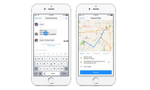Messenger-Uber