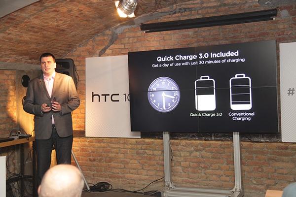 Marko Savković, direktor HTC proizvoda za region Centralne i Istočne Evrope o karakteristikama novog uređaja.