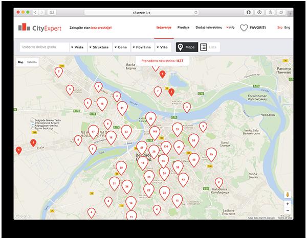 Terenske ekipe dnevno dodaju 20 novih nekretnina na sajt, a svaku od lokacija detaljno proverava CityExpert ekipa - kako bi sve istaknute informacije bile tačne.