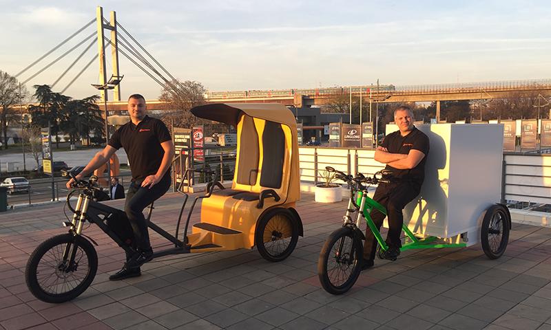 E-prime lansirao električni tricikl na sajmu automobila