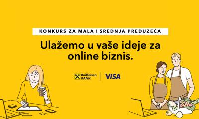 50 trgovaca dobiće besplatan webshop na konkursu koji organizuju Visa i Raiffeisen banka
