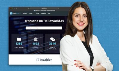 HelloWorld slavi 6. rođendan uz rekordnu posetu i najveći broj IT poslova u Srbiji