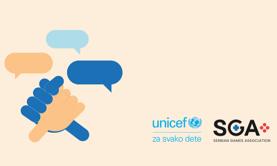 SGA i Unicef u Srbiji potpisali sporazum o saradnji – sledi unapređenje gejming sektora za decu i mlade